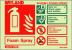Fire extinguisher identification